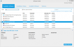 Access to storage from windows: using OpenText NFS Solo