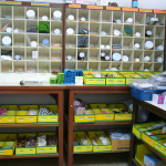 Inside of a pharmacy