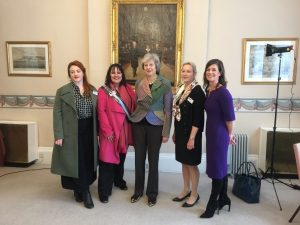five women including Theresa May