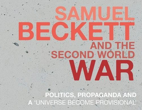 Beckett and War: recently published
