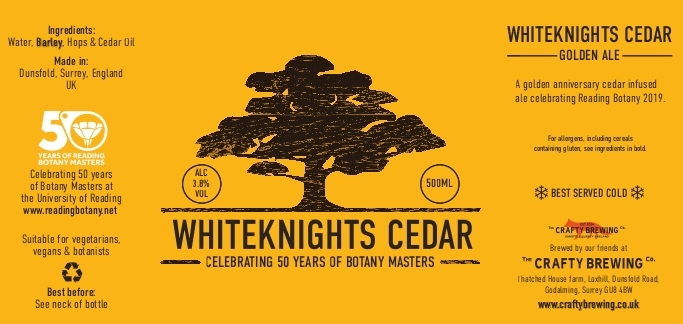 Whiteknights Cedar: A Golden Anniversary Ale!