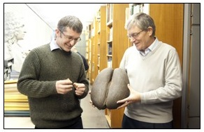 The Coco-de-mer seed arrives at Reading Herbarium RNG