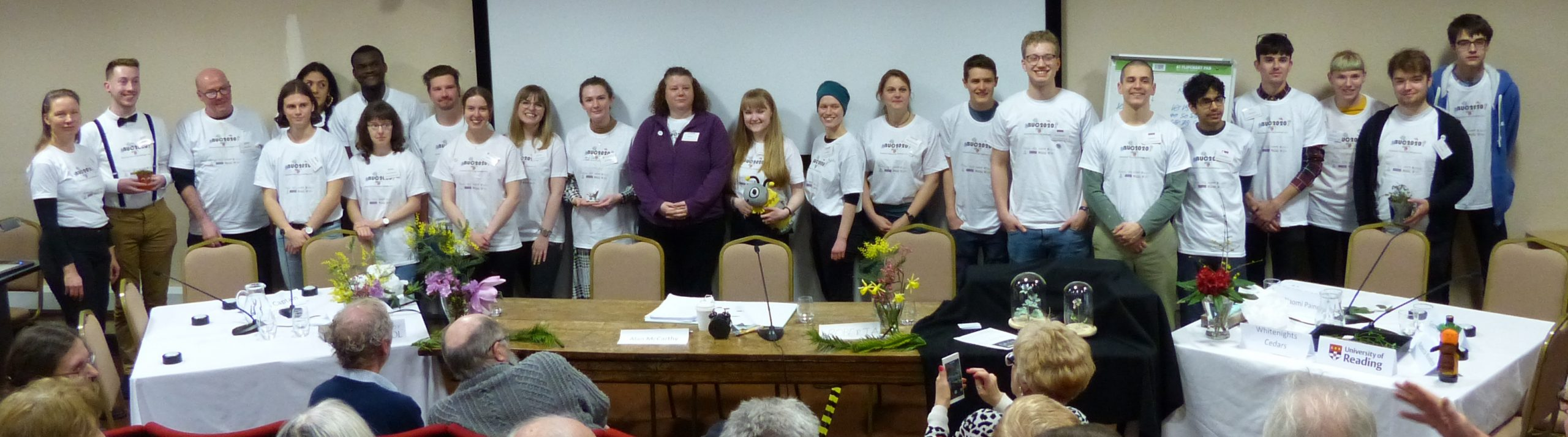 Reading botanists bring home the Botanical University Challenge trophy – for the third time!