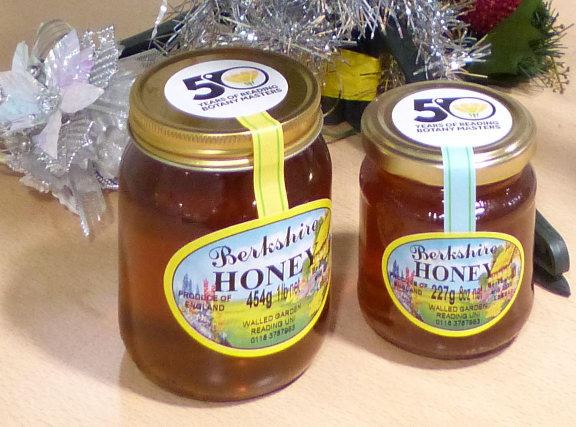 Reading Botany 50th anniversary honey
