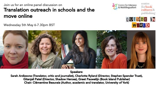 Recording of panel: Translators in schools and the move online