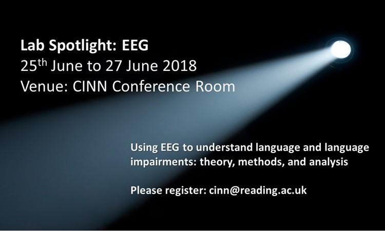 EEG Lab Spot Light, 25 to 27 June 2018