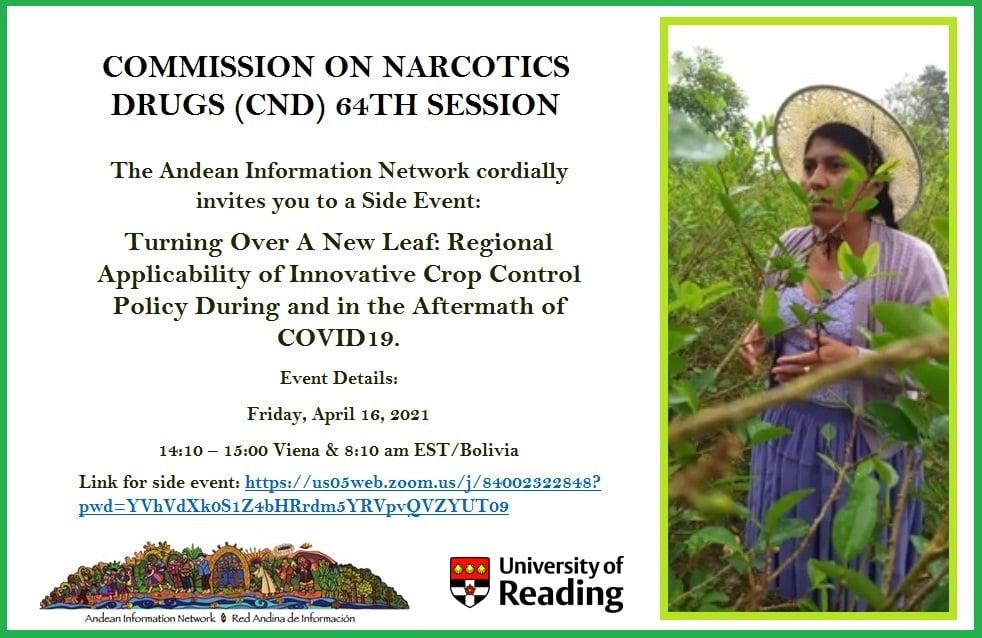 Our team present at the United Nations Commission on Narcotic Drugs (CND)