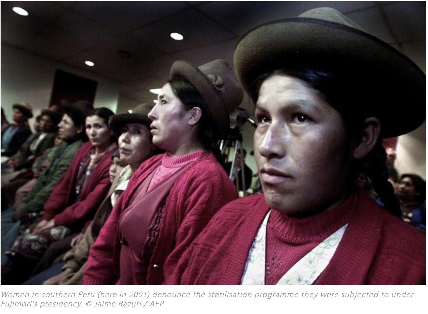 """Forced Sterilization in Peru: """"After Decades in Limbo, There Will Finally be a Decision"""""""