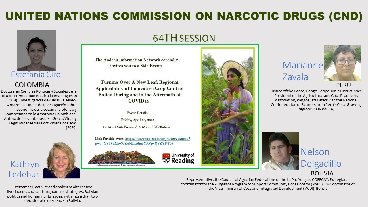 Bog of United Nations Commission on Narcotic Drugs (CND) side event