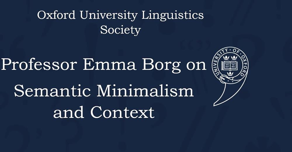 Oxford Linguistics interview