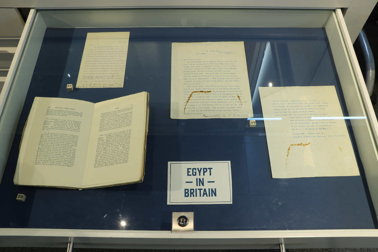 EGYPT IN READING: Egypt in Britain Drawer