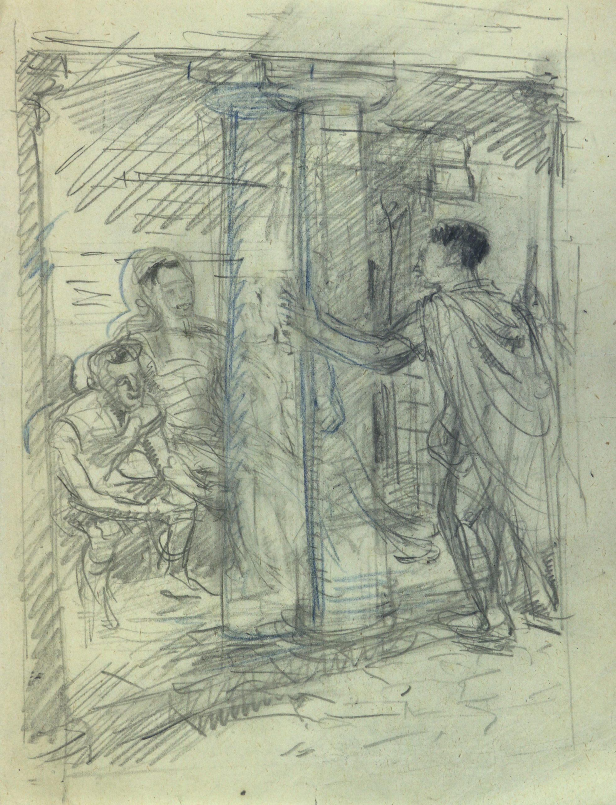 Allen Seaby, Leon of Massalia, Chapter 21: The Painted Stoa