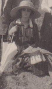 Semni Papaspyridi at Rhitsona, Greece, ca. 1921