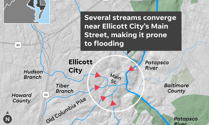 Ellicott City security cameras could offer useful and real time flood information
