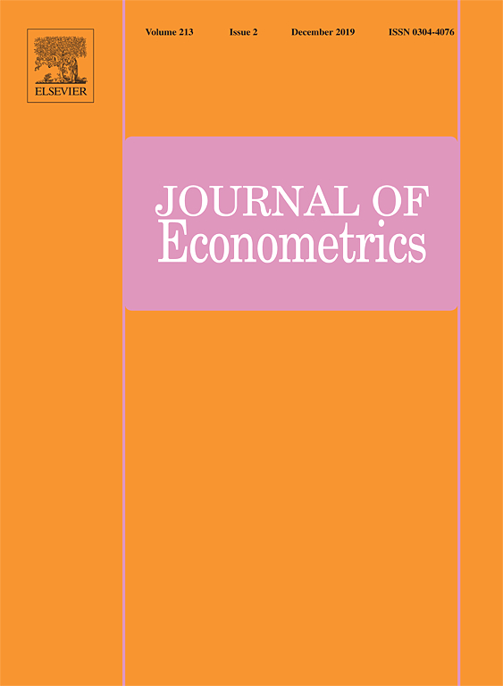 Dr Shixuan Wang published a new article in Journal of Econometrics
