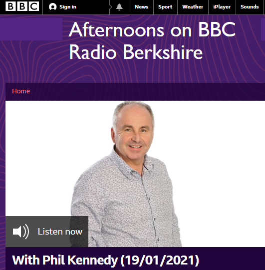NEWS – Dr. Anna Tsakalaki (Lecturer in Education, University of Reading) was interviewed on BBC Radio Berkshire about her study on children reading during lockdown