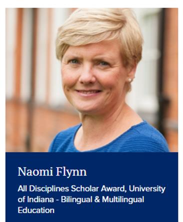 NEWS – Fulbright Scholar Award success for Dr. Naomi Flynn (Associate Professor of Primary English Education, University of Reading)