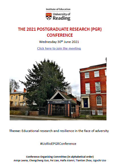 BLOG POST (by the 2021 IoE Postgraduate Research Conference Organising Committee) – The 2021 IoE Postgraduate Research Conference was a great success