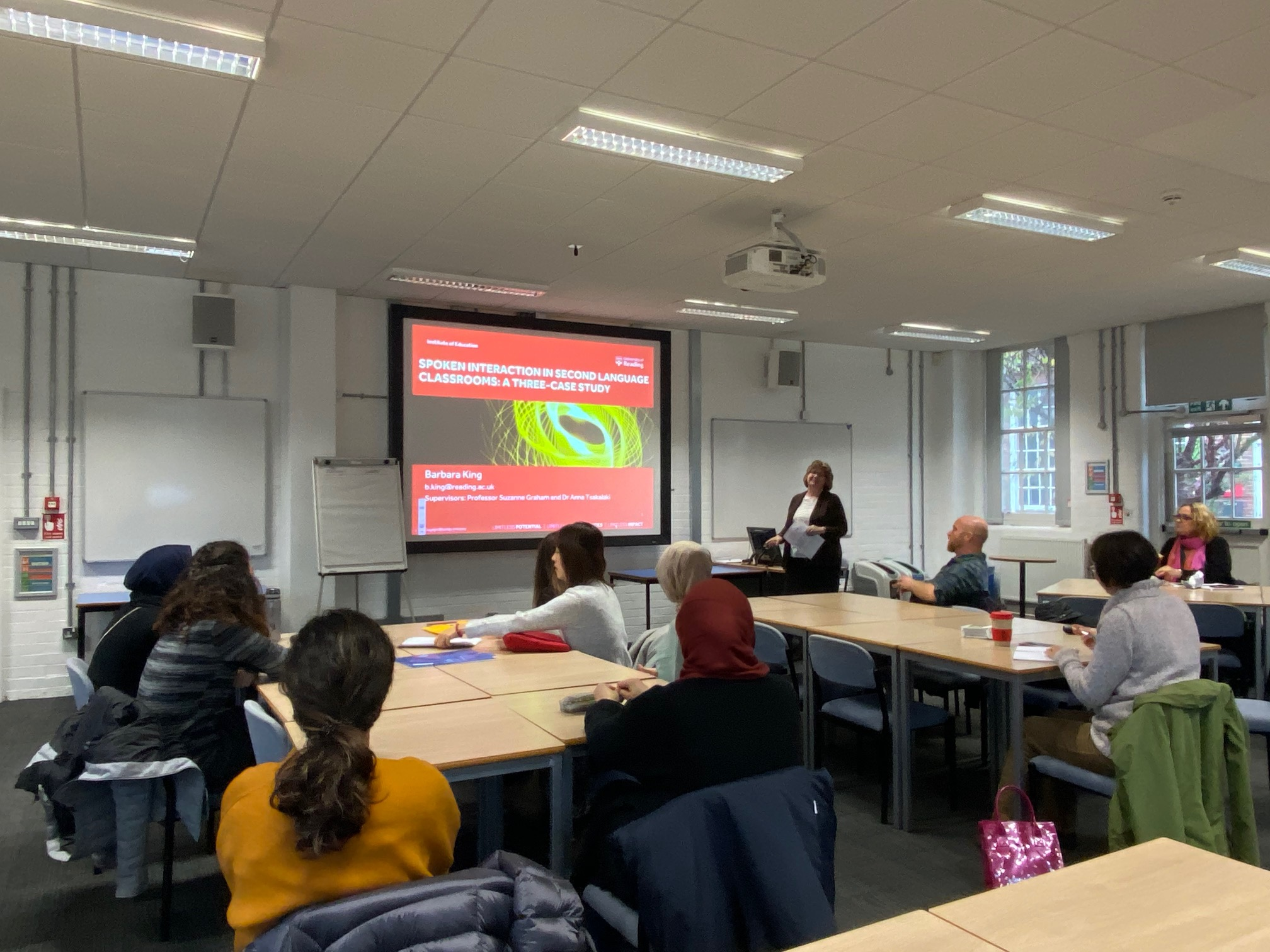 NEWS – IoE doctoral students shared their research as part of the IoE lunchtime research seminar series