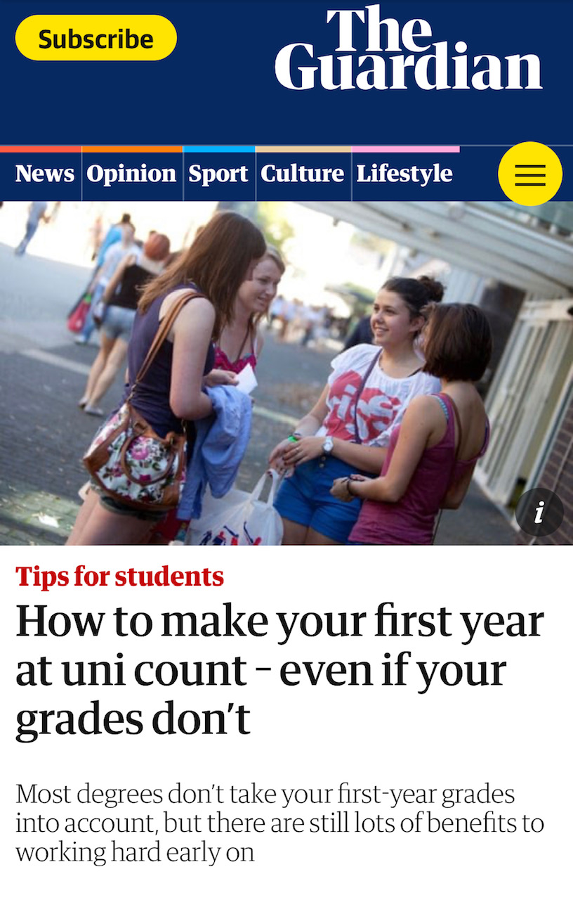 NEWS – Research by Dr. Billy Wong (Associate Professor in Widening Participation) got featured in The Guardian