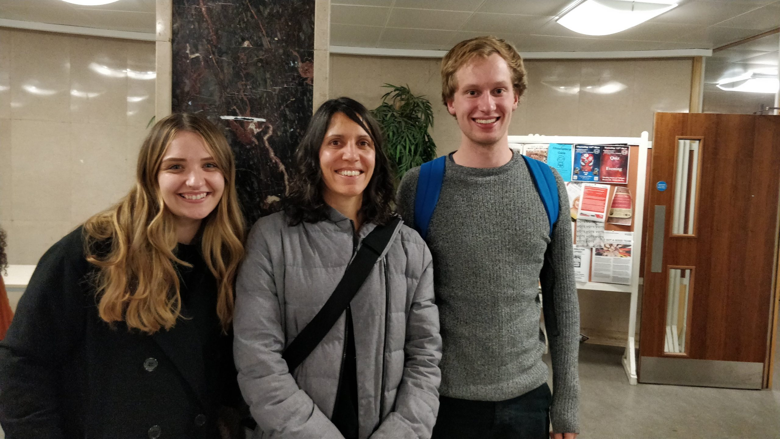 NEWS – Three UROP undergraduate students working on IoE research projects presented their research poster at the Undergraduate Research Showcase event