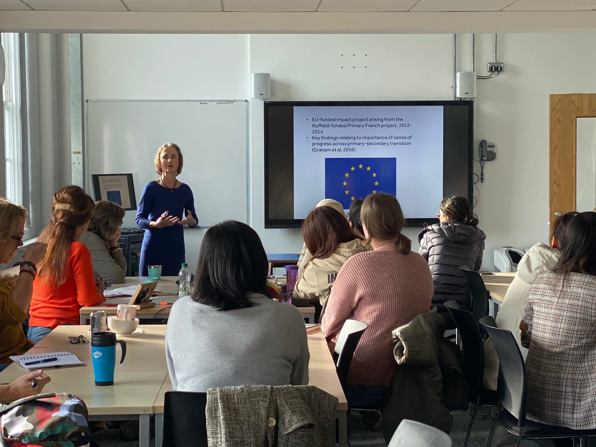 NEWS – Prof. Suzanne Graham (Professor of Language and Education) shared her research as part of the Institute's lunchtime research seminar series
