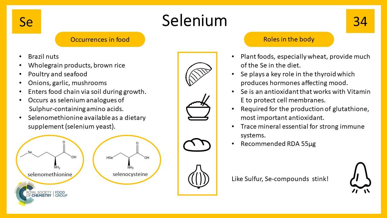 IYPT 2019  Selenium – Vital Micronutrient