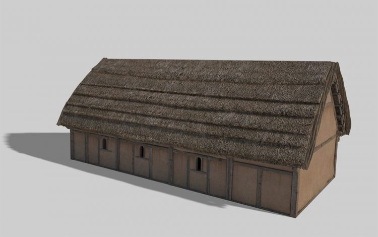 Digital reconstruction of the 'Old Church' (Centre for the Study of Christianity & Culture, University of York)