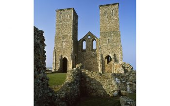 The Anglo-Saxon church at Reculver, Kent (© Jean Williamson)