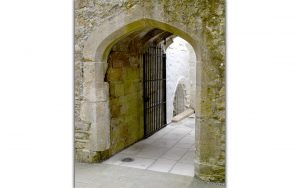 A passage in the crypt provided access to St Joseph's well (© Glastonbury Abbey; photograph: David Cousins)