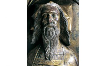 Tomb effigy of Edward III at Westminster Abbey (© Dean and Chapter of Westminster)