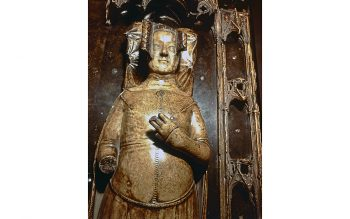 Tomb effigy of Philippa at Westminster Abbey (© Dean and Chapter of Westminster)