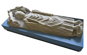 Effigy of Abbot William of St Vigor (d. 1223) (© Glastonbury Abbey; photograph: David Cousins)