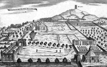 William Stukeley's 1724 eastern aspect (© Glastonbury Antiquarian Society)