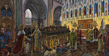 Arthur's Tomb (c.1331)