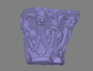 Rendering of the photogrammetry model of the Salisbury Capital.