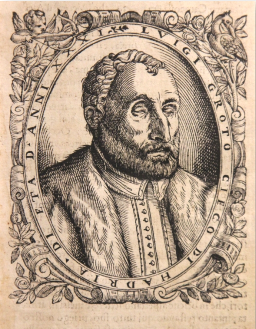 Luigi Groto: A blind author and prophet in sixteenth-century Italy, by Laura Carnelos