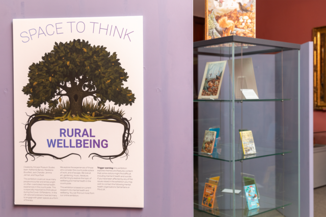 Introducing Space to Think: Rural Wellbeing, our latest student exhibition