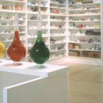 Shelves of medicines and medical bottles