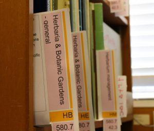 Herbarium Bookshelf
