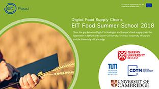 EIT Food Summer School 2018