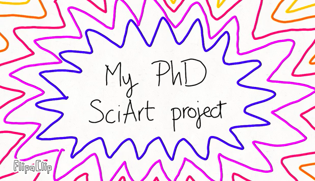 One PhD student's journey in the discovery of SciArt