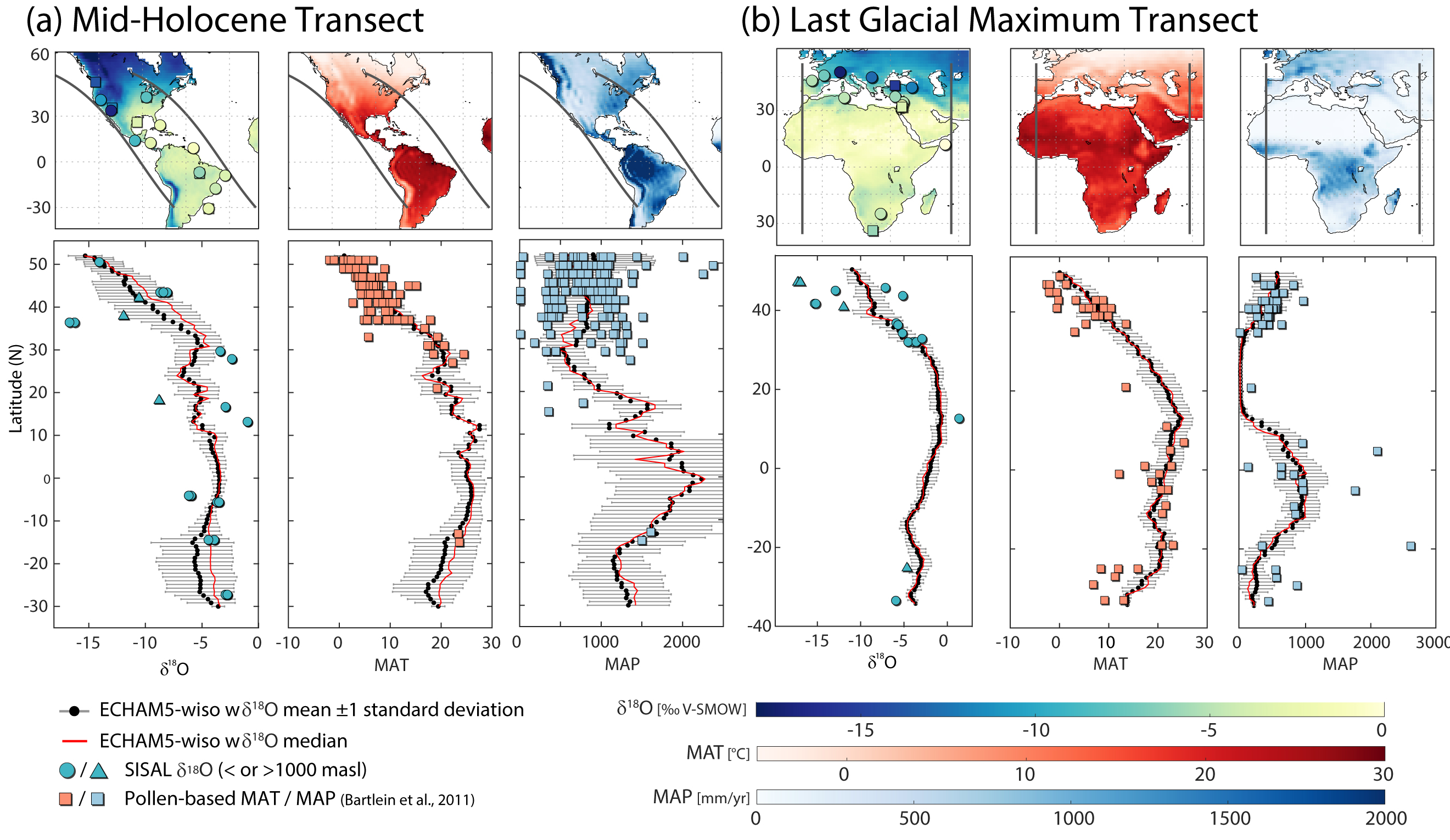 Evaluating model outputs using integrated global speleothem records of climate change. By Laia Comas Bru