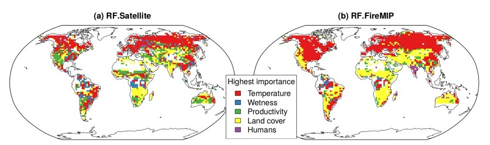 What are the key variables that control global fire patterns? By Sandy Harrison