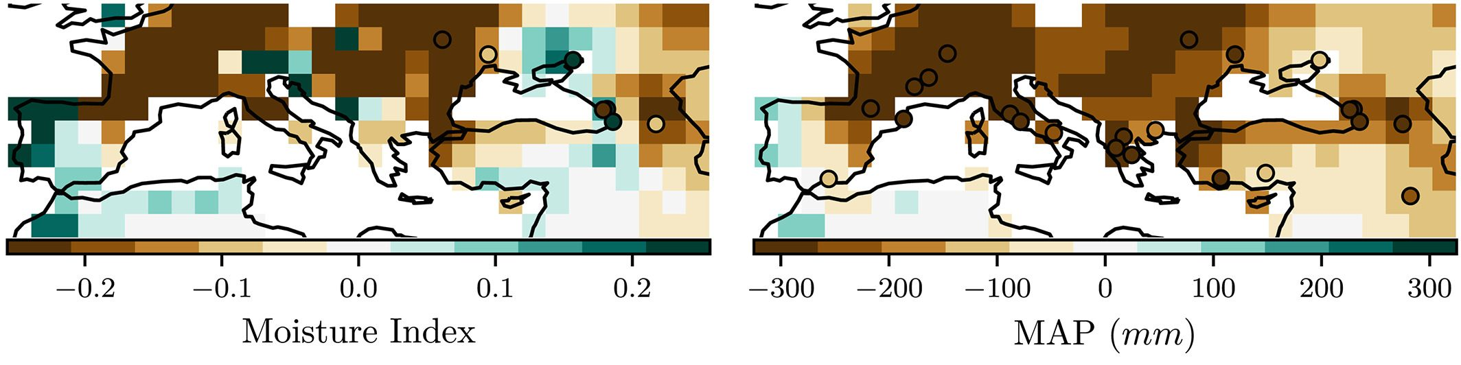 A Method for Generating Coherent Spatially Explicit Maps of Seasonal Paleoclimates From Site‐Based Reconstructions by Sandy P. Harrison