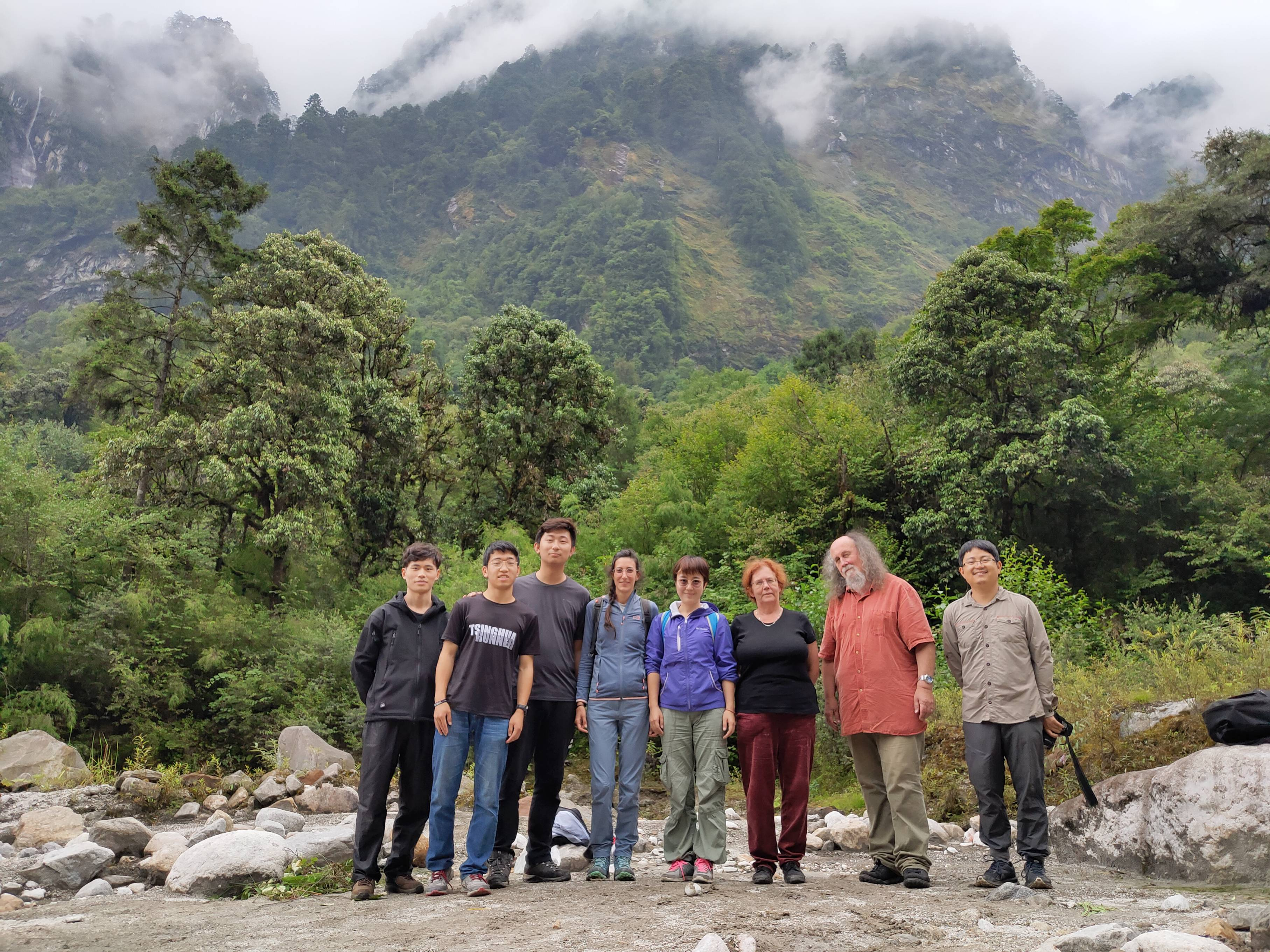 SPECIAL and the Tsinghua Tiger Team in Gongga Mountains. By Sandy Harrison