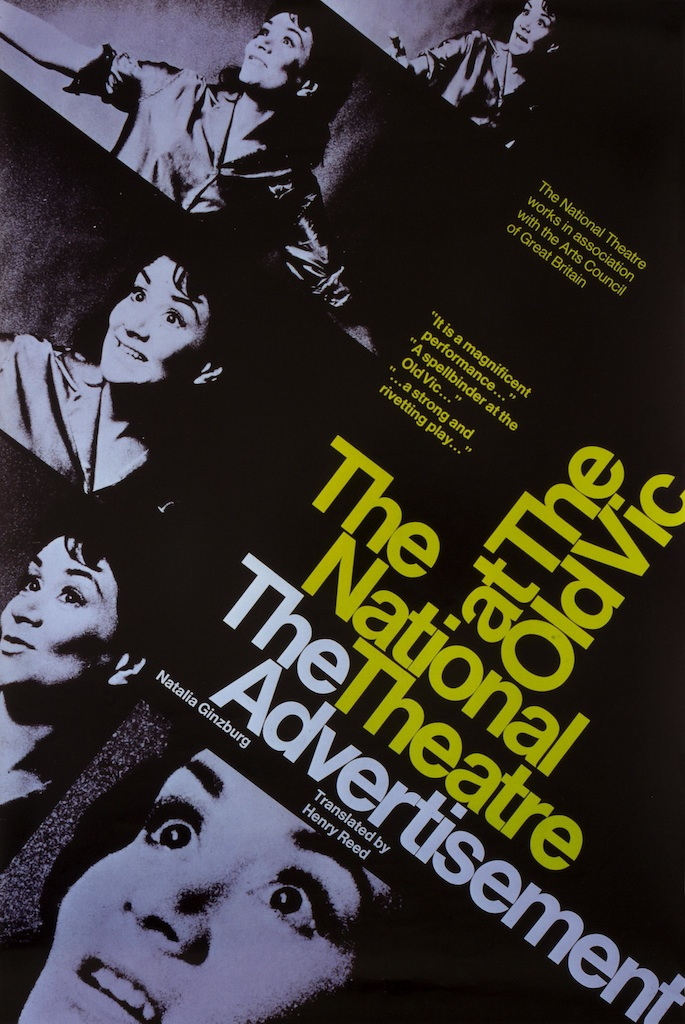 The Advertisement, Old Vic, National Theatre posters, Ken Briggs