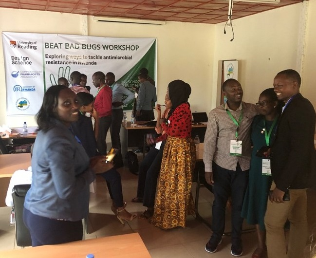 The University of Reading's Beat Bad Bug workshop in Rwanda