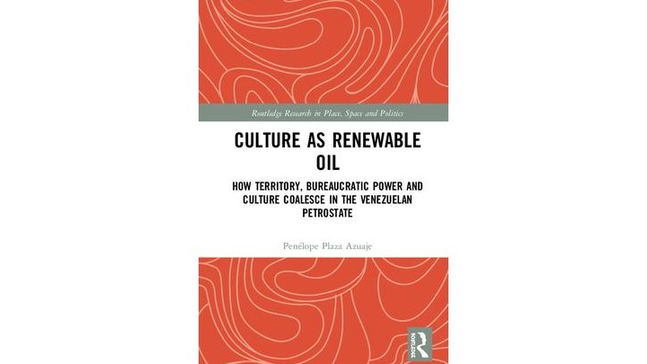 Dr Plaza's Culture as Renewable Oil shortlisted