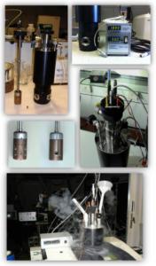 Various Low Temperature OTTLE Cell setups